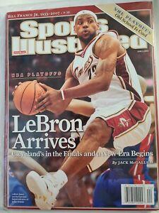 Cleveland Cavaliers LeBron James Sports Illustrated No Label Lebron Arrives 2007