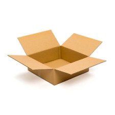 20 Cardboard Shipping Boxes 18x18x6, Packing Mailing Moving Packaging Flat Box