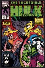 Incredible Hulk #387 SIGNED Peter David Story / Dale Keown Cover & Art