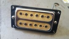 Vintage 1970's Pre-DiMarzio Alex Axe double cream Guitar Pickup rare