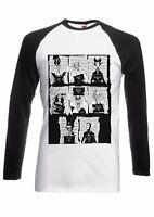 Disney Villains Mugshot Men Women Long Short Sleeve Baseball T Shirt 1995