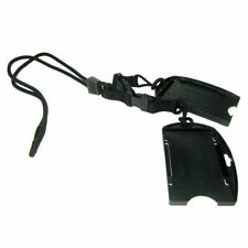 Black Lanyard w/ Two Detachable Dual Sided Smart Card Holders (19550) by EK USA