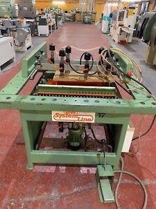 *CLEARANCE* Gannomat Vertical Multi Borer, 2 x 23 Drills, 3 Phase, £750 +VAT