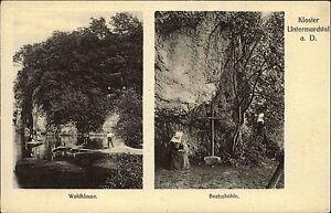 Untermarchtal Schwäbische Alb ~1910 Waldklause Beatushöhle Kloster Nonnen Höhle