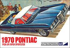Mpc 1970 Pontiac Pickup / Open Sportster 2 in 1 model kit 1/25