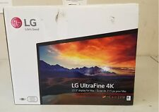 "New open box LG 4K UltraFine 22MD4K 22"" Monitor LCD built-in speakers for MAC"