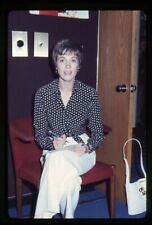 Julie Andrews Candid backstage Vintage Original 35mm Transparency Slide
