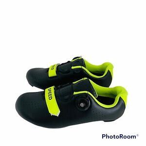 Speed Cycling Shoes Road Spin Workout Unisex Bike Bicycle Men 7 Women 8.5