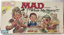 "MAD Magazine ""What - Me Worry?"" Board Game EXTREMELY RARE! Great Shape VINTAGE"