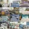 Duvet Set with Quilt Cover, Fitted Sheet, Pillow Case 100% Egyptian Cotton 200TC