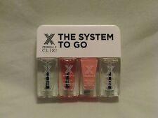 Formula X Nail Polish System To-Go Set 'Alive' Peach w/Top & Base Coat