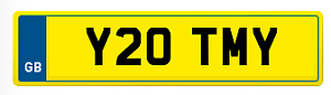 Personalised Registration TIM TOM TOMMY TMY Private Cherished DVLA number plate
