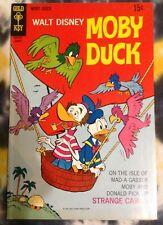 Walt Disney MOBY DUCK (1970) - Gold Key / Western Printing - VF+