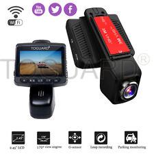 "TOGUARD Dash Cam WiFi Stealth Full HD 1080P 2.45"" Car Camera DVR Recorder CMOS"