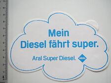 Aufkleber Sticker Aral - Super Diesel - Mineralöl (7169)
