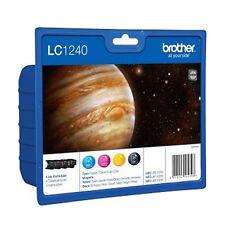 Brother LC1240VALBPDR ValuePack cyan magenta gelb schwarz Tintenpatrone NEU