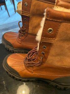 UGG Australia Women's Adirondack III Winter Boots Chestnut size 10