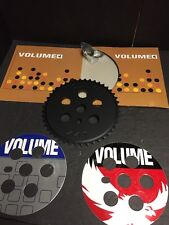 Nos Volume Bmx 44t Black 6160 Alloy Sprocket Freestyle Gt Shadow Primo Cult Haro