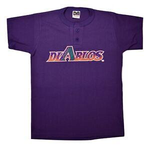 El Paso Diablos Baseball Youth Henley Shirt New S, M, L