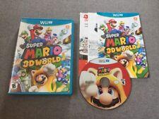 Super Mario 3D World (Nintendo Wii U, 2013) First Release! Near Mint!