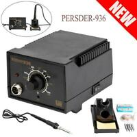 PERSDER-936ESD SMD Electric Soldering Station Solder Iron Welding Kit W/4 Tips
