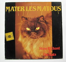 STEVE RICHARD & THE KATS...MATER LES MATOUS...MAXI 45 T