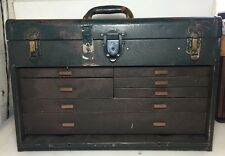 UNION STEEL MACHINIST TOOL BOX - 7 DRAWERS AND TOP TILL Plus Tools!!