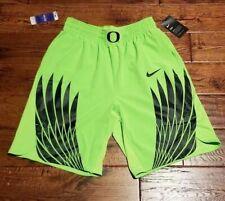 Mens Medium Nike Oregon Ducks Electric Green Basketball Shorts Wings 2017