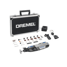 Dremel 8220-3/35 12v Cordless Multi Tool 1 x 2.0ah Battery Charger + Case