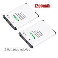2x Kastar Battery for Nikon EN-EL19 Coolpix A100 A300 W100 S32 S33 S100 S2500