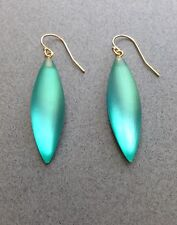 NEW! Alexis Bittar Mermaid Green 'Lucite' Drop Earrings, Free Shipping!