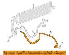 Chevrolet GM OEM 16-18 Cruze 1.4L Transmission Oil Cooler-Outlet hose 13388809