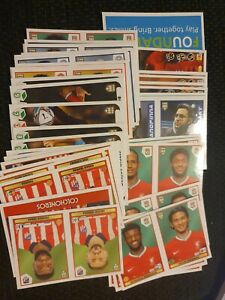 Panini Fifa 365 2021 Stickers - Numbers 1-100 - Special Offer