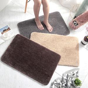 60x90cm Waterproof Bathroom Area Rugs Home Floor Carpet Bedroom Mats Washable