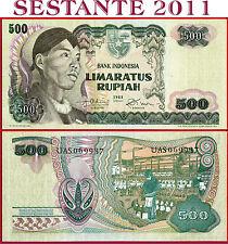 (com) INDONESIA  -  500 RUPIAH 1968 - GENERAL SUDIRMAN  - P 109 -  XF