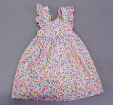 OshKosh Bgosh Floral Design Flutter Sleeve Dress CS9 Pink...