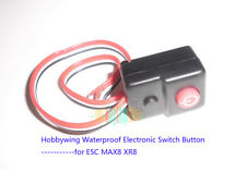 Hobbywing Waterproof Electronic Switch Button Connector for Model ESC MAX8 XR8