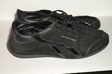 U.S.POLO ASSN. Gramercy Womens BLACK 9M Lace-Up Sneakers Athletic Shoes PreOwned