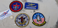 TOP GUN Maverick F-15 Patches 4er SET 1 Keychain /Avion / Aircraft YakAir