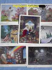 SEASONS OF WIZARDRY Portfolio, Carl Lundgren, Limited Signed Numbered, 1984