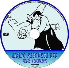 Yoshinkan AIKIDO PCDVD risorsa 9 HR del video demo prezioso & 40 + LIBRI / docs NUOVO