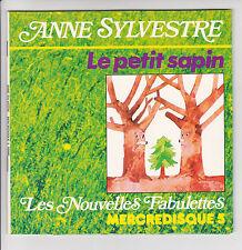 ANNE SYLVESTRE Vinyle 45T Livre EP FABULETTES Chants Enfant MERCREDISQUE 5 RARE