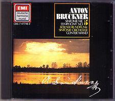 Günter WAND: BRUCKNER Symphony No.5 WDR Köln EMI CD Gunter Sinfonie Original