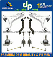 VOLVO S80 CONTROL ARM ARMS BALL JOINT TIE RODS SWAY BAR LINKS KIT 2000 01 02 03