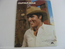 Guitar Man 1981 sheet music Elvis Presley cover Jerry Reed