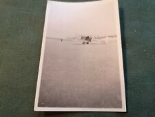 ancienne photo - vue d un avion