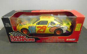 VINTAGE 1996 STEVE GRISSOM'S #29 CARTOON NETWORK NASCAR DIE CAST STOCK CAR