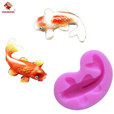 DIY Silicone Animal Mold Icing Sugarcraft Cake Decoration Mould Fish Craft