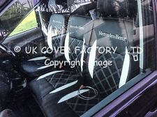 MERCEDES SPRINTER VW CRAFTER VAN SEAT COVERS  WHITE BENTLEY  152BKWTSV