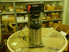Used Bunn Airpot Coffee Maker 23001.0008-Model: Cwtf35-Aps,Pf w/ airpot